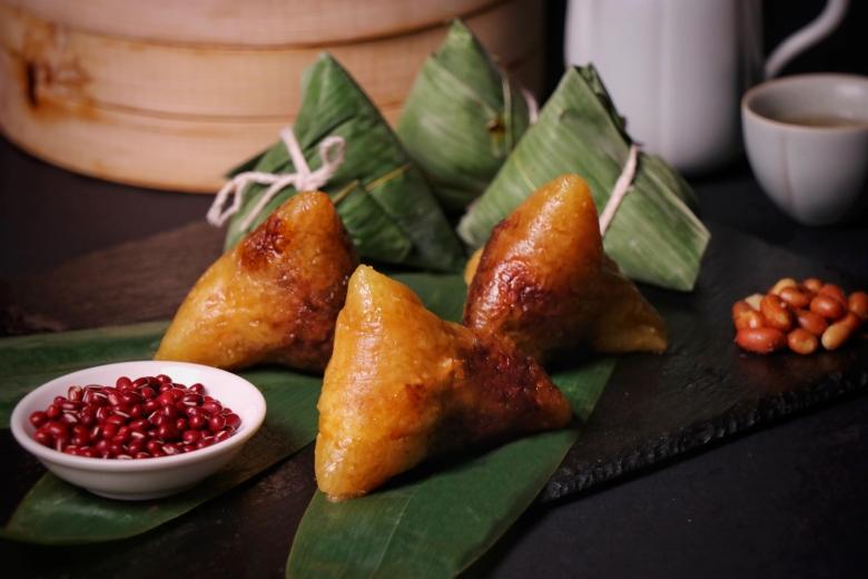 2020「萬粽選麗」經典台式端粽:紅豆心鹼粽