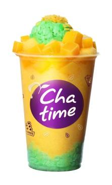 【新聞照片7】日出茶太推出「霸氣芒果王」,整顆新鮮芒果搭配椰汁芒果糯米,閃耀王者光芒