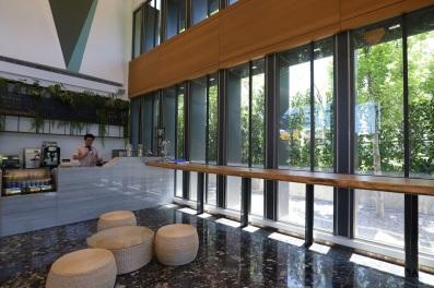 一樓CHAM cafe 提供輕食飲品