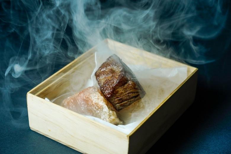 台北君悅-寶艾西餐廳 -炭香頂級和牛紐約客 (1)