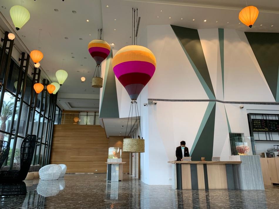 熱氣球主題大廳