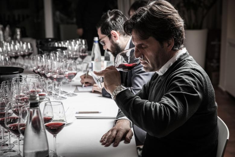 圖說3- 國際酒評家評飲義大利酒王《 Barolo Library》(001)