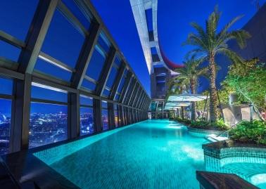 板橋凱撒大飯店 泳池