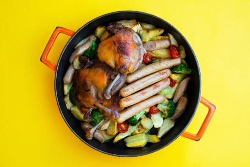 台北士林萬麗酒店 士林廚房 「食在中西」主題料理活動,西式熱鍋-南法卡蘇來燉鍋
